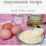 homemade olive oil mayonnaise recipe