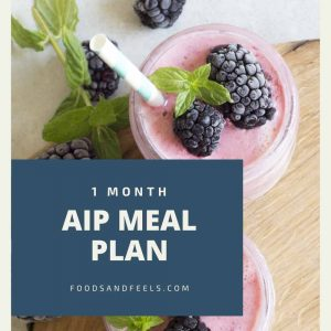 1 month autoimmune paleo meal plan