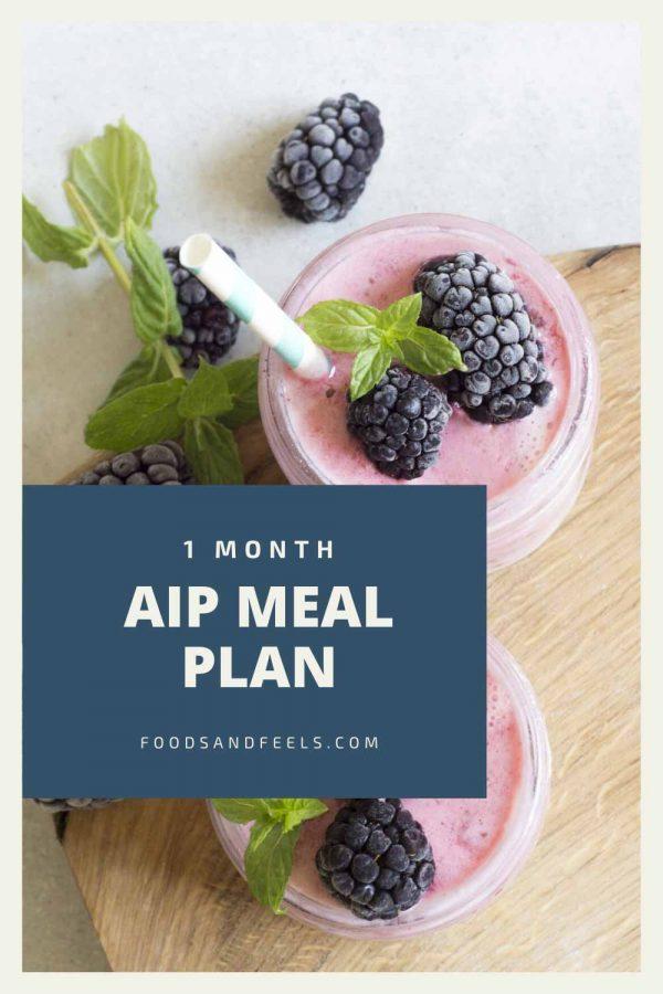 1 month autoimmune paleo meal plan