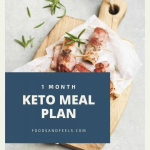 1 month keto meal plan