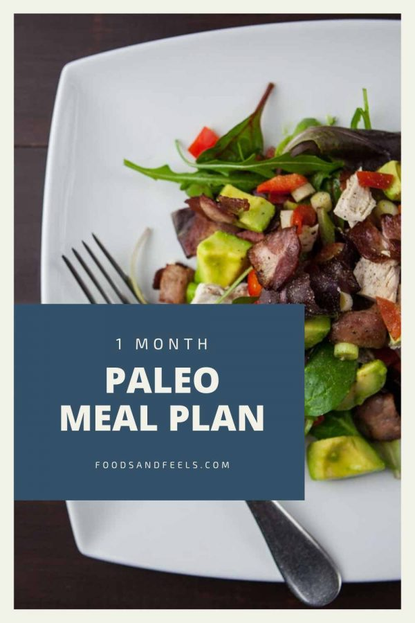 1 month paleo meal plan
