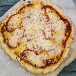 gluten free dairy free pepperoni mushroom pizza