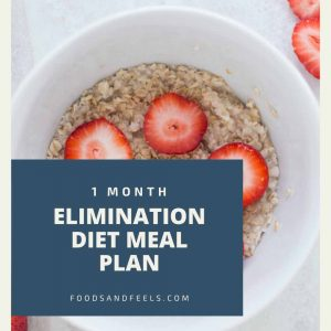 elimintaion diel meal plan