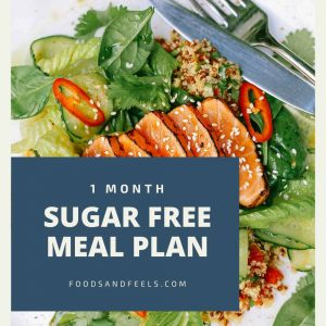 1 month sugar free meal plan