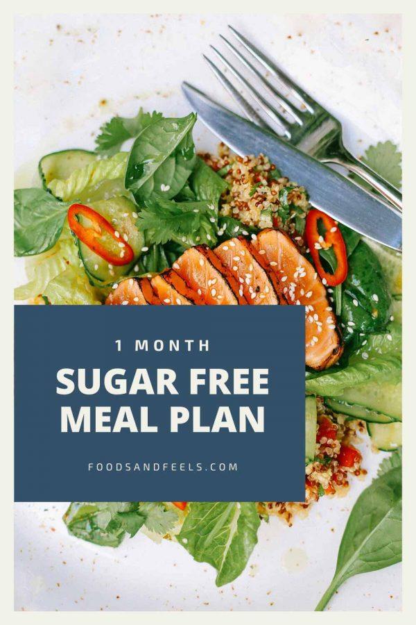 1 month sugar free meal plan