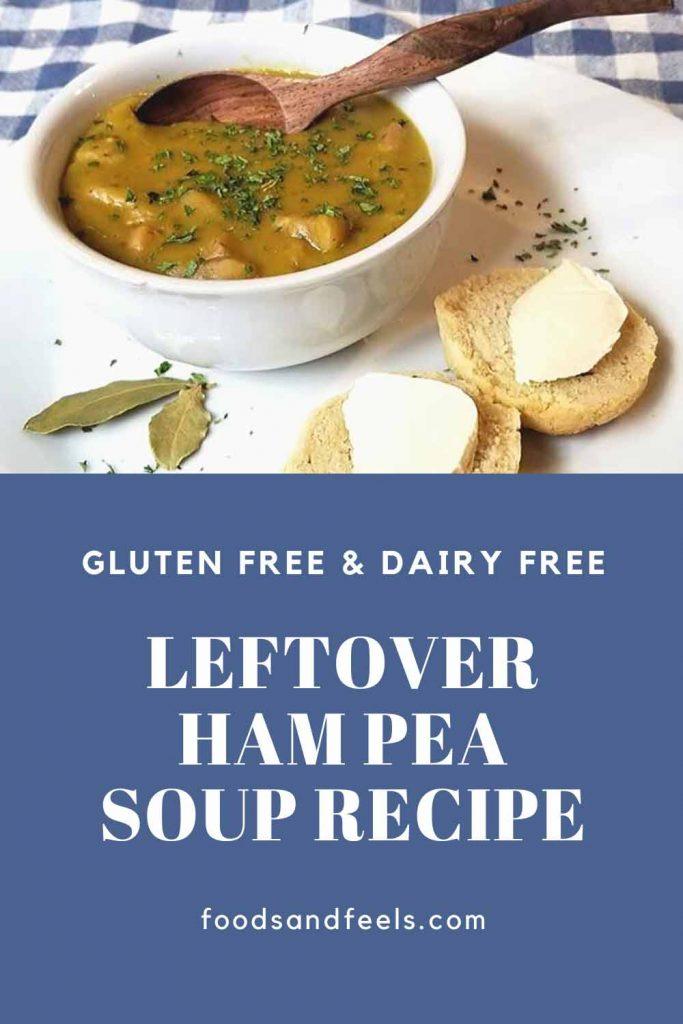 Leftover ham pea soup recipe