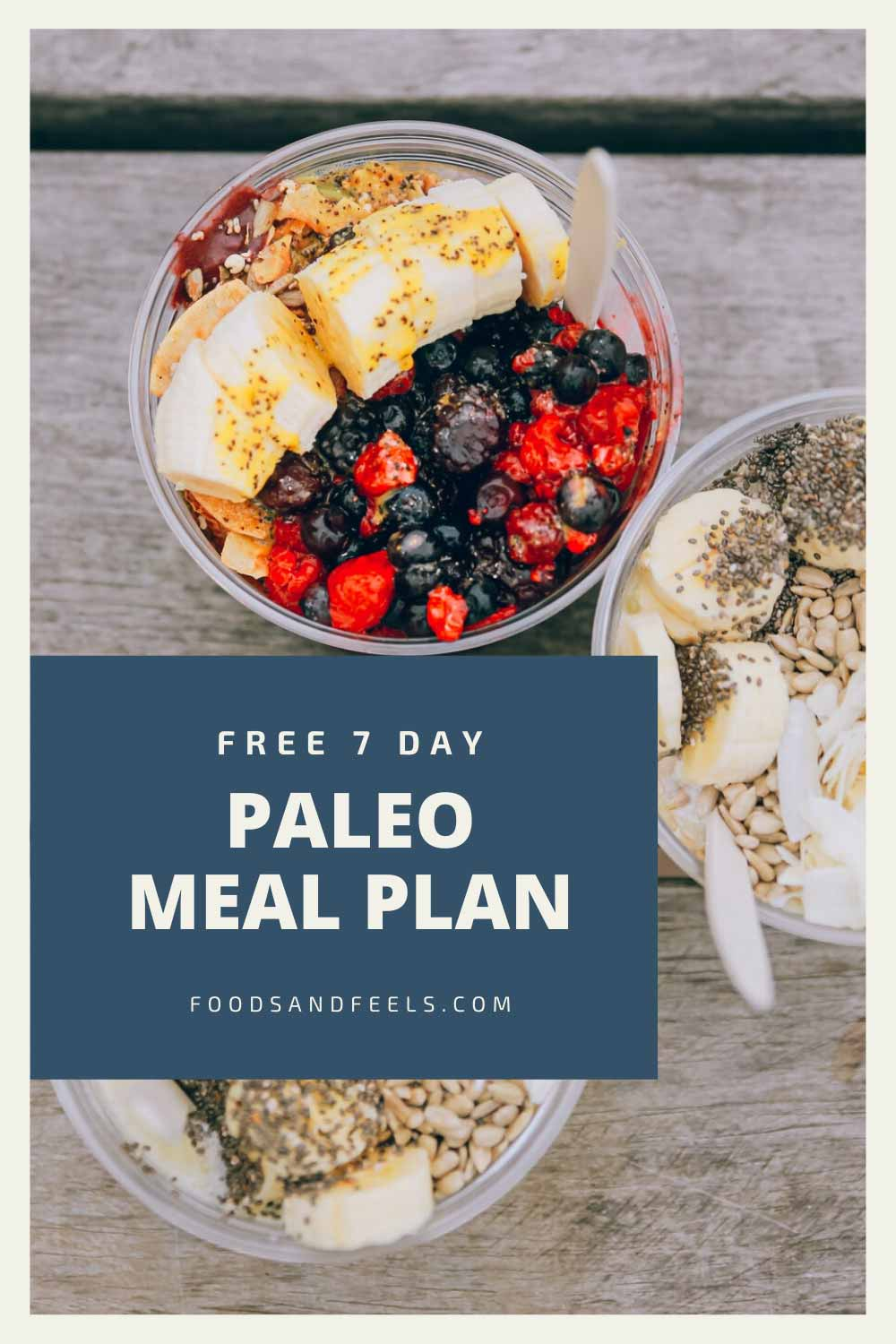 Free 7 day paleo meal plan