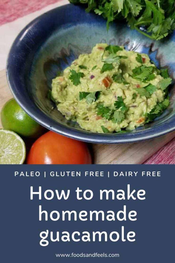 how to make homemade guacamole recipe