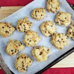 paleo chocolate chip cookies with cassava flour