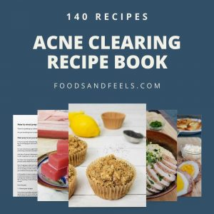 hormonal and cystic acne clearing recipe book