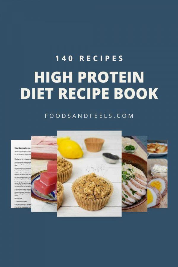 high protein diet recipe book