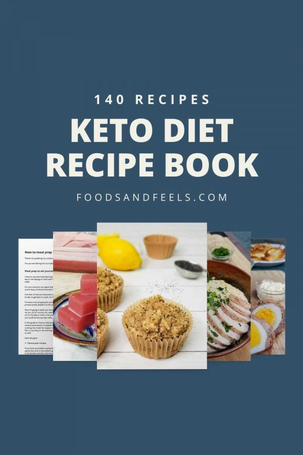 keto diet recipe book