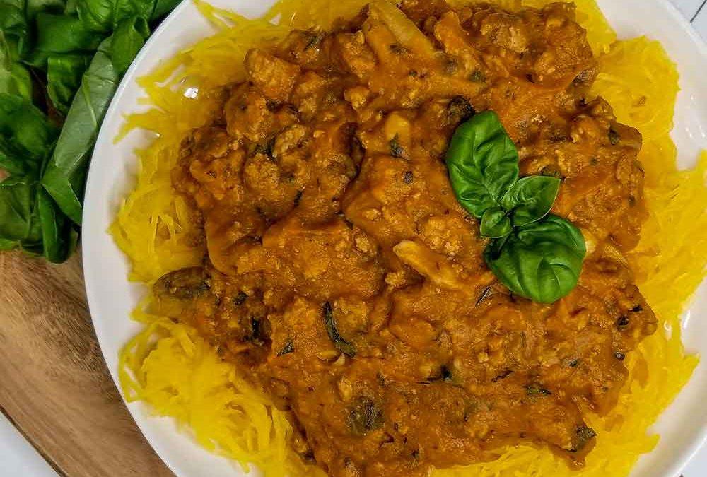 Paleo spaghetti recipe (AIP & Low FODMAP)