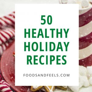 healthy holiday recipe book cover
