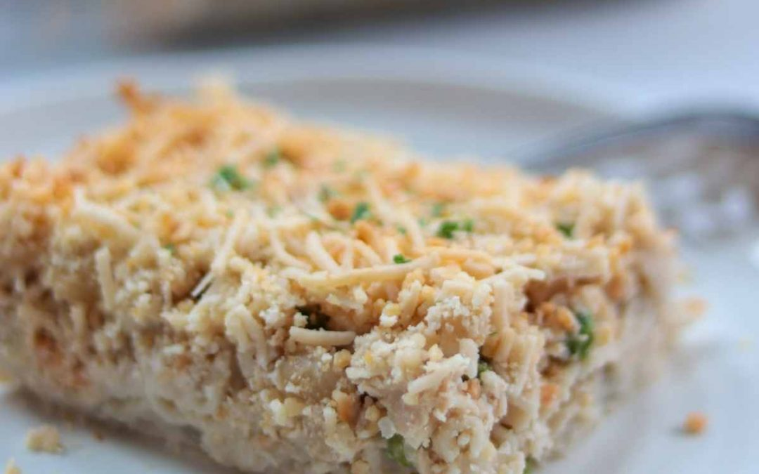 Tuna casserole recipe (dairy & gluten free)